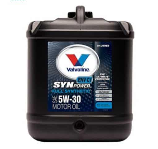 Масло VALVOLINE SYNPOWER ENV C1 5W30 20L