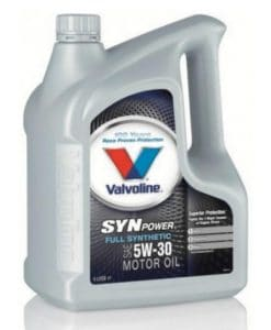 Масло VALVOLINE SYNPOWER 5W30 4L
