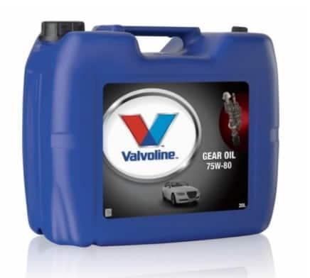 Трансмисионно масло VALVOLINE GEAR OIL 75W80 - 20L