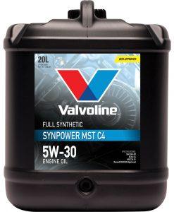 Масло VALVOLINE SYNPOWER MST C4 5W30 20L