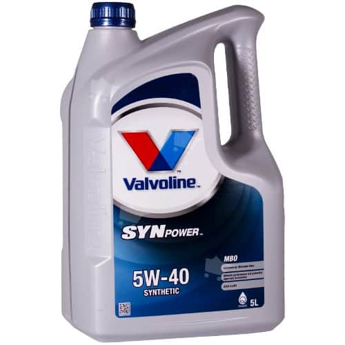 Масло VALVOLINE SYNPOWER MBO 5W40 5L