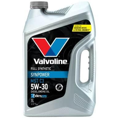 Масло VALVOLINE SYNPOWER MST C3 5W30 5L