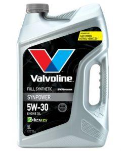 Масло VALVOLINE SYNPOWER DX1 5W30 5L