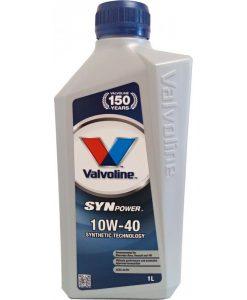 Масло VALVOLINE SYNPOWER 10W40 - 1L
