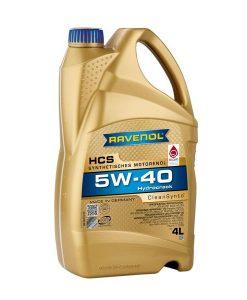 Масло RAVENOL HCS 5W40 4L