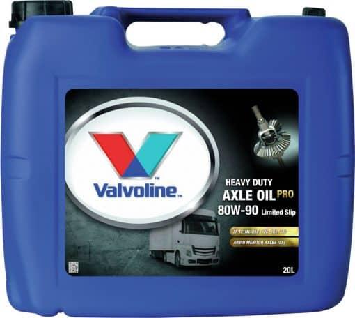 Трансмисионно масло VALVOLINE HD AXLE OIL PRO 80W90 LS - 20L