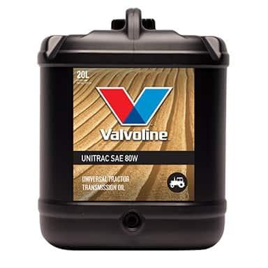 Хидравлично масло VALVOLINE UNITRAC SAE 80W - 20L