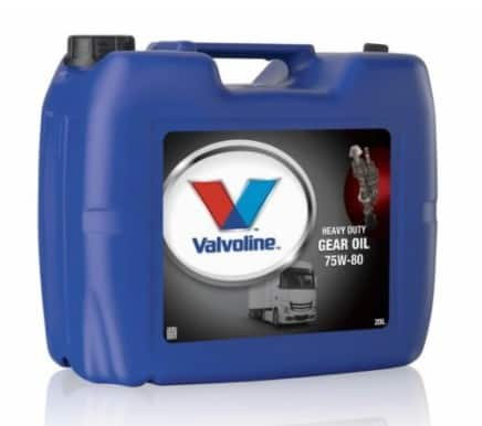 Трансмисионно масло VALVOLINE HD GEAR OIL 75W80 - 20L