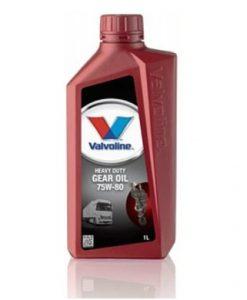 Трансмисионно масло VALVOLINE HD GEAR OIL 75W80 - 1L