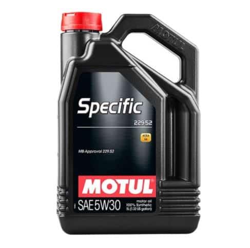 Масло MOTUL SPECIFIC 229.52 5W30 - 5L