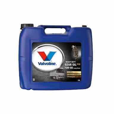 Трансмисионно масло VALVOLINE HD GEAR OIL PRO 75W80 LD - 20L