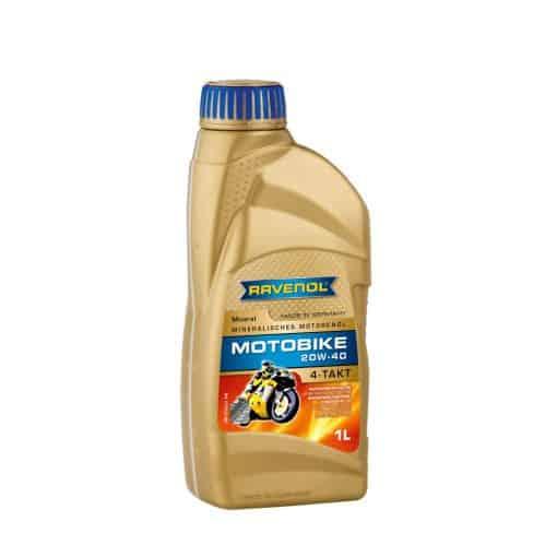 Масло RAVENOL Motobike 4-T Mineral 20W40 1L