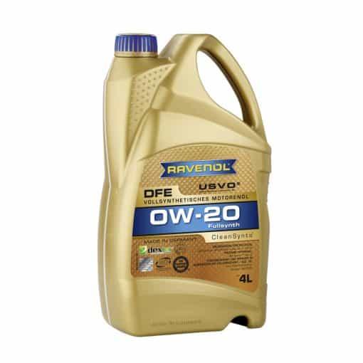 Масло RAVENOL DFE 0W20 4L