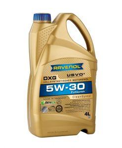 Масло RAVENOL DXG 5W30 4L