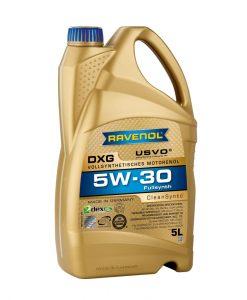 Масло RAVENOL DXG 5W30 5L