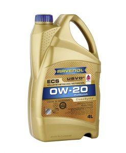 Масло RAVENOL Eco Synth ECS 0W20 4L
