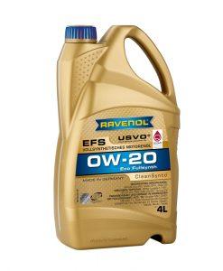 Масло RAVENOL EFS EcoFullSynth. 0W20 4L