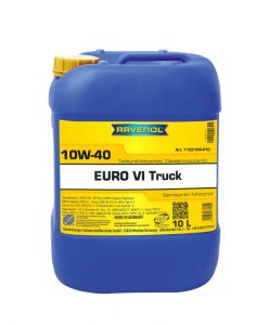 Масло RAVENOL EURO VI Truck 10W40 10L