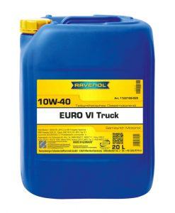 Масло RAVENOL EURO VI Truck 10W40 20L