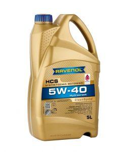 Масло RAVENOL HCS 5W40 5L