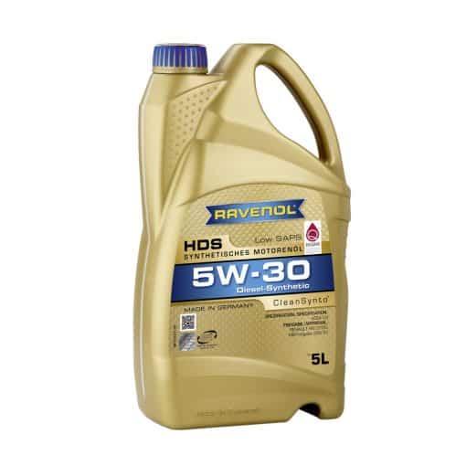 Масло RAVENOL HDS Hydrocrack Diesel Specific 5W30 5L