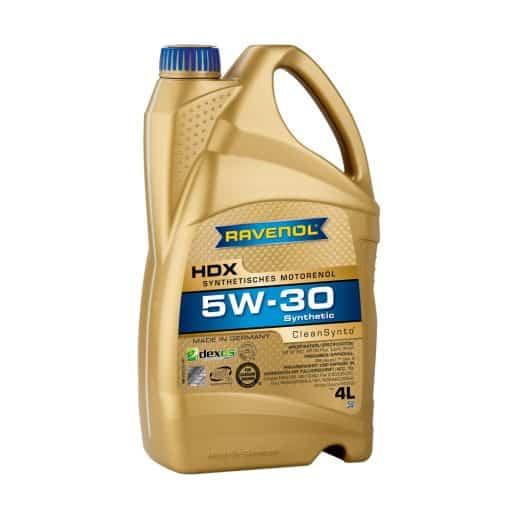 Масло RAVENOL HDX 5W30 4L