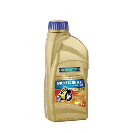 Масло RAVENOL Motobike 4-T Mineral 15W40 1L