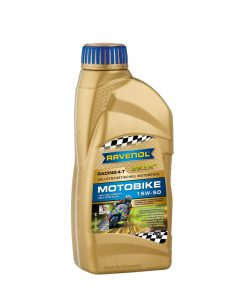 Масло RAVENOL RACING 4-T Motorbike 15W50 1L