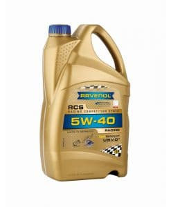 Масло RAVENOL RCS Racing Competition Synto 5W40 4L
