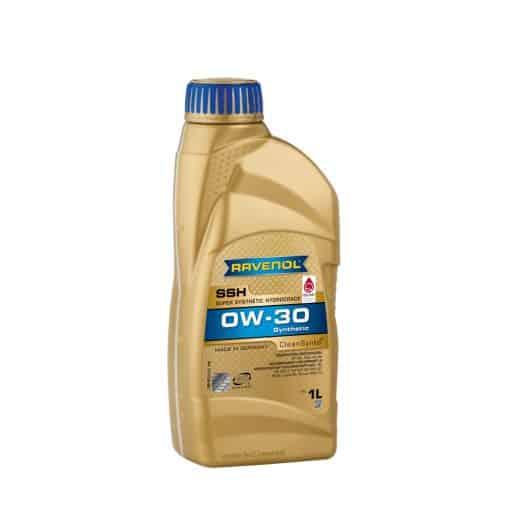 Масло RAVENOL Super Synthetic Hydrocrack SSH 0W30 1L