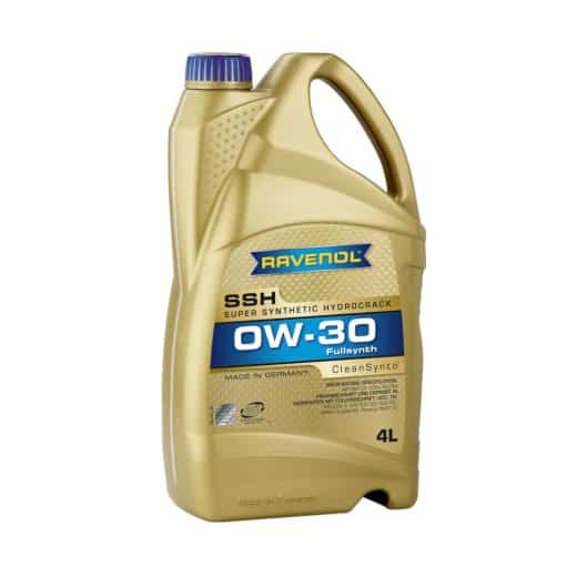 Масло RAVENOL Super Synthetic Hydrocrack SSH 0W30 4L