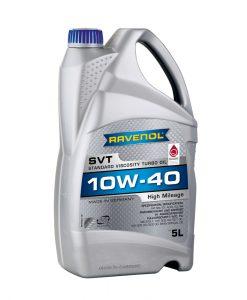 Масло RAVENOL SVT Standard Viscosity Turbo 10W40 5L