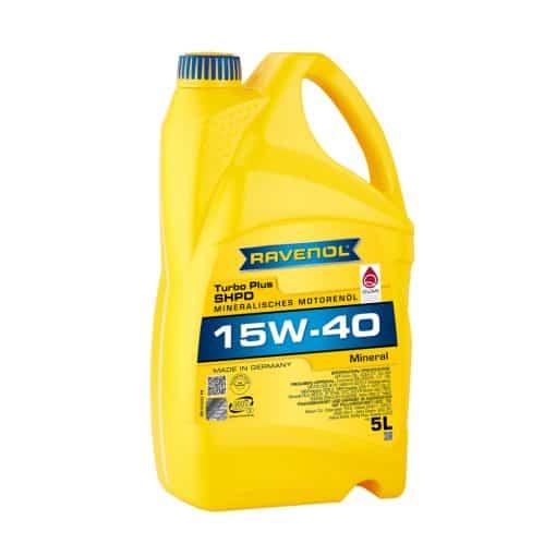 Масло RAVENOL Turbo plus SHPD 15W40 5L