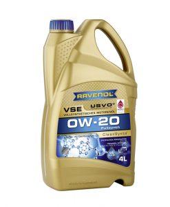 Масло RAVENOL VSE 0W20 4L