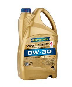 Масло RAVENOL VSW 0W30 4L