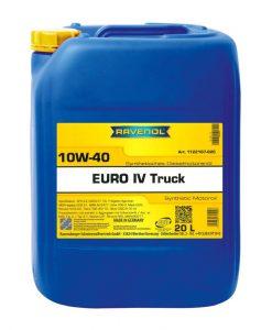 Масло RAVENOL EURO IV Truck 10W40 20L