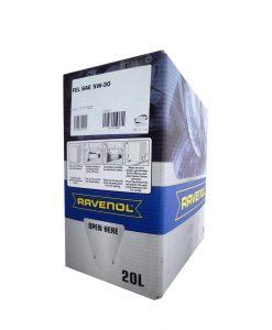 Масло RAVENOL FEL 5W30 Bag in Box 20L