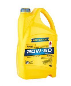 Масло RAVENOL Formel Extra 20W50 4L