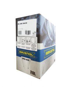 Масло RAVENOL HCL 5W30 Bag in Box 20L