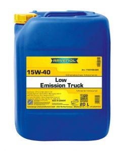 Масло RAVENOL Low Emission Truck 15W40 20L
