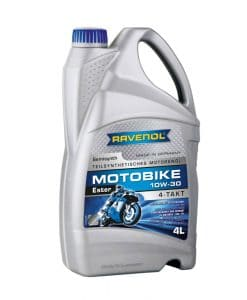 Масло RAVENOL Motobike 4-T Ester 10W30 4L