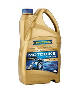 Масло RAVENOL Motobike 4-T Ester 10W50 4L