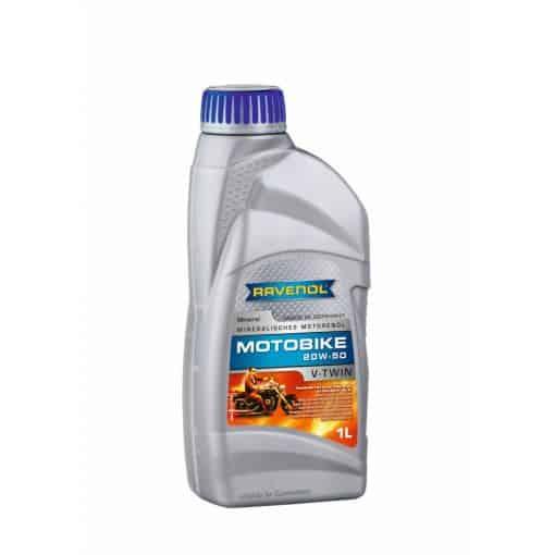 Масло RAVENOL Motobike V-Twin 20W50 Mineral 1L