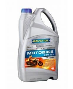 Масло RAVENOL Motobike V-Twin 20W50 Mineral 4L