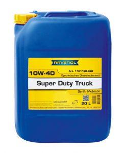 Масло RAVENOL SDT Super Duty Truck 10W40 20L