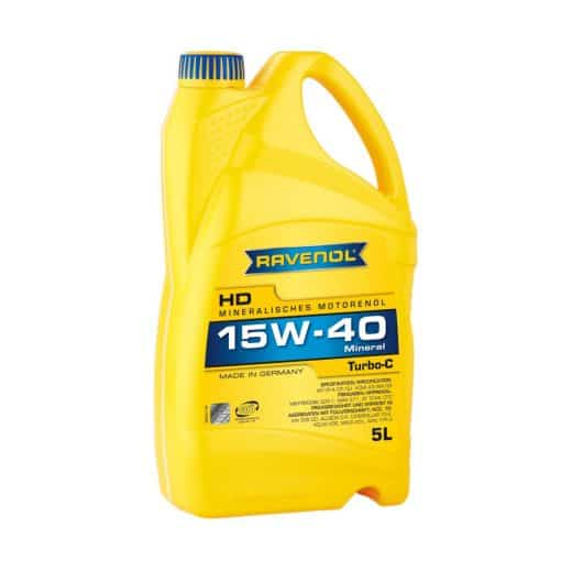 Масло RAVENOL Turbo-C HD-C 15W40 5L