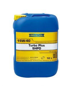 Масло RAVENOL Turbo plus SHPD 15W40 10L