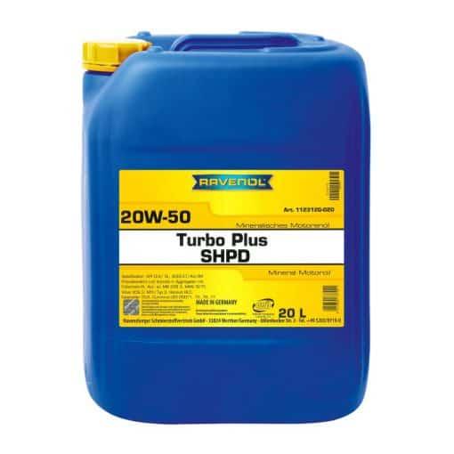 Масло RAVENOL Turbo Plus SHPD 20W50 20L