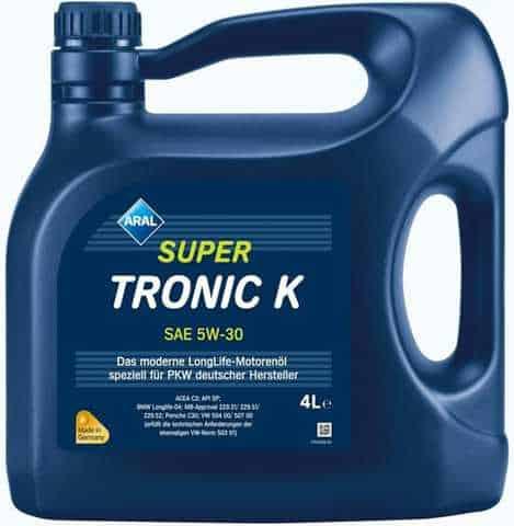 Масло Aral SUPER TRONIC K 5w30 - 4L