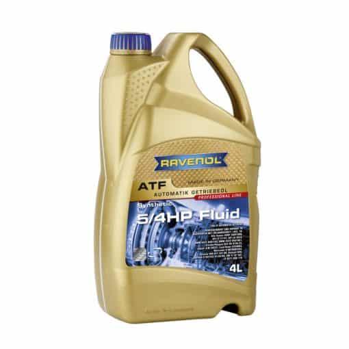 Трансмисионно масло RAVENOL ATF 5/4 HP Fluid 4L